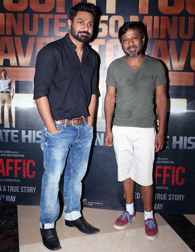 Traffic: Manoj Bajpayee, Divya Dutta and Other celebs Spotted at PVR ICON Theatre
