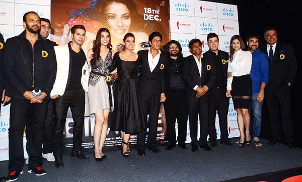 Trailer Launch of Dilwale Movie