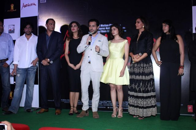 Trailer Launch of film Azhar