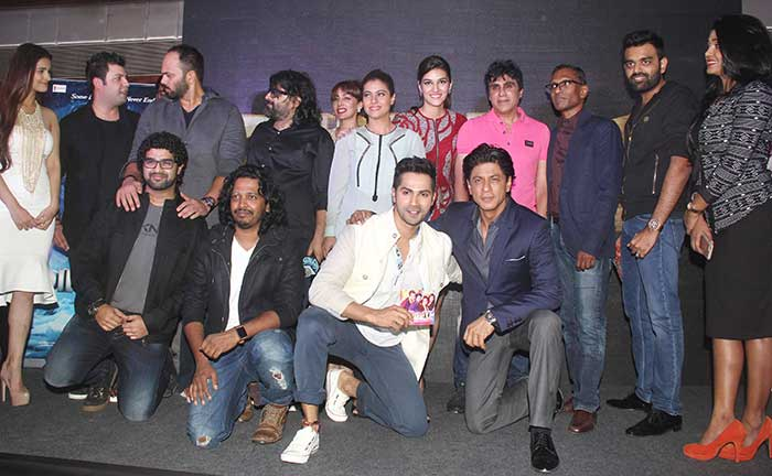 Tukur Tukur New Song Launch of Dilwale Movie
