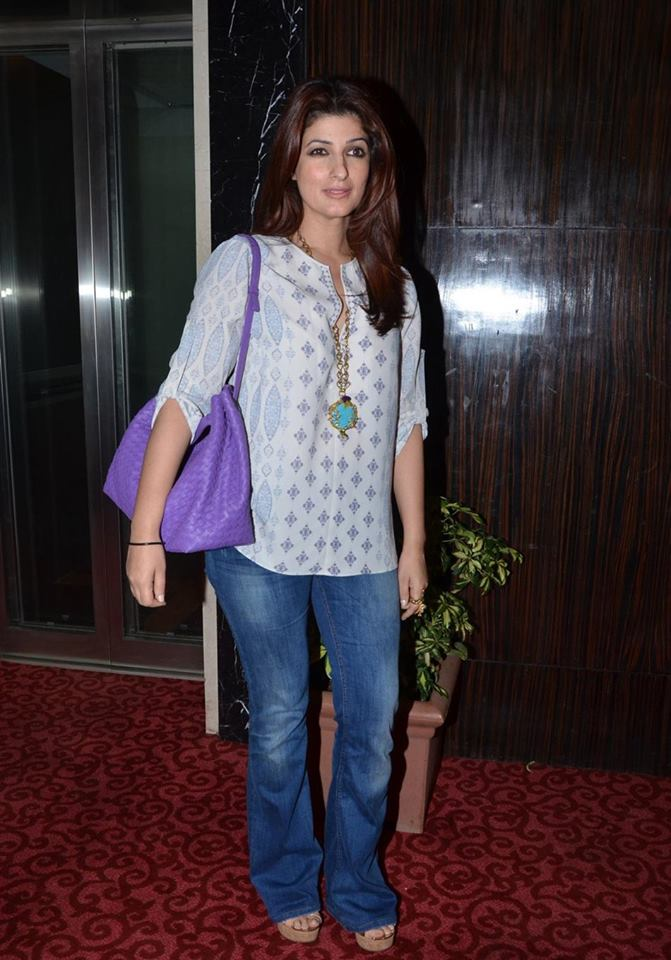 Twinkle Khanna & Naseeruddin Shah at Kersi Khambatta Book Launch Event in Mumbai