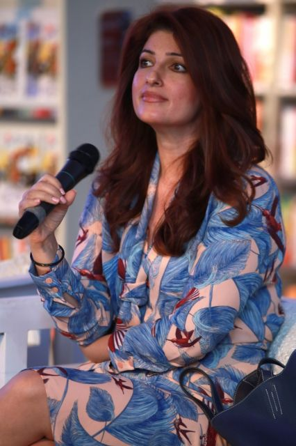 Twinkle Khanna at Spring Fever Reading in Delhi
