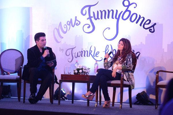 Twinkle Khannas Mrs Funnybones Book Launch-21