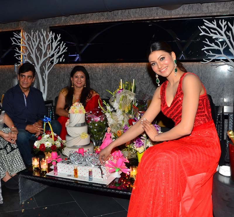 Urvashi Rautela Celebrates Her Birthday with Family