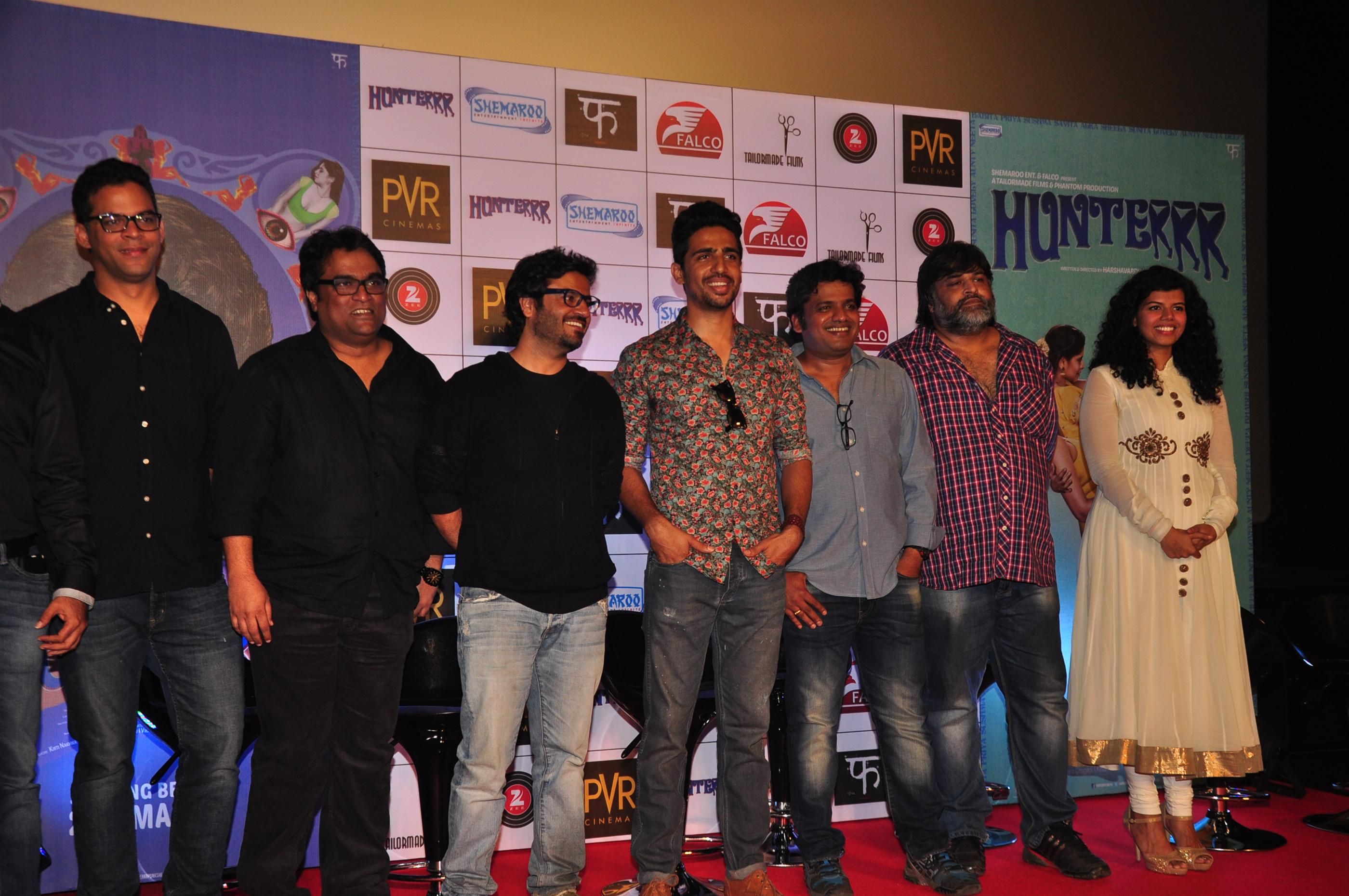 Veera Saxena Trailer Launch of Hunterrr Movie