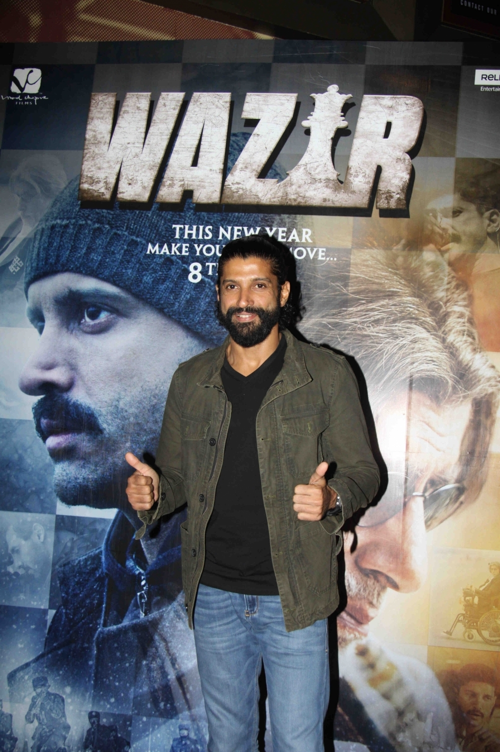 Vidhu Vinod Chopra & Bejoy Nambiar Special Screening of film Wazir in Mumbai
