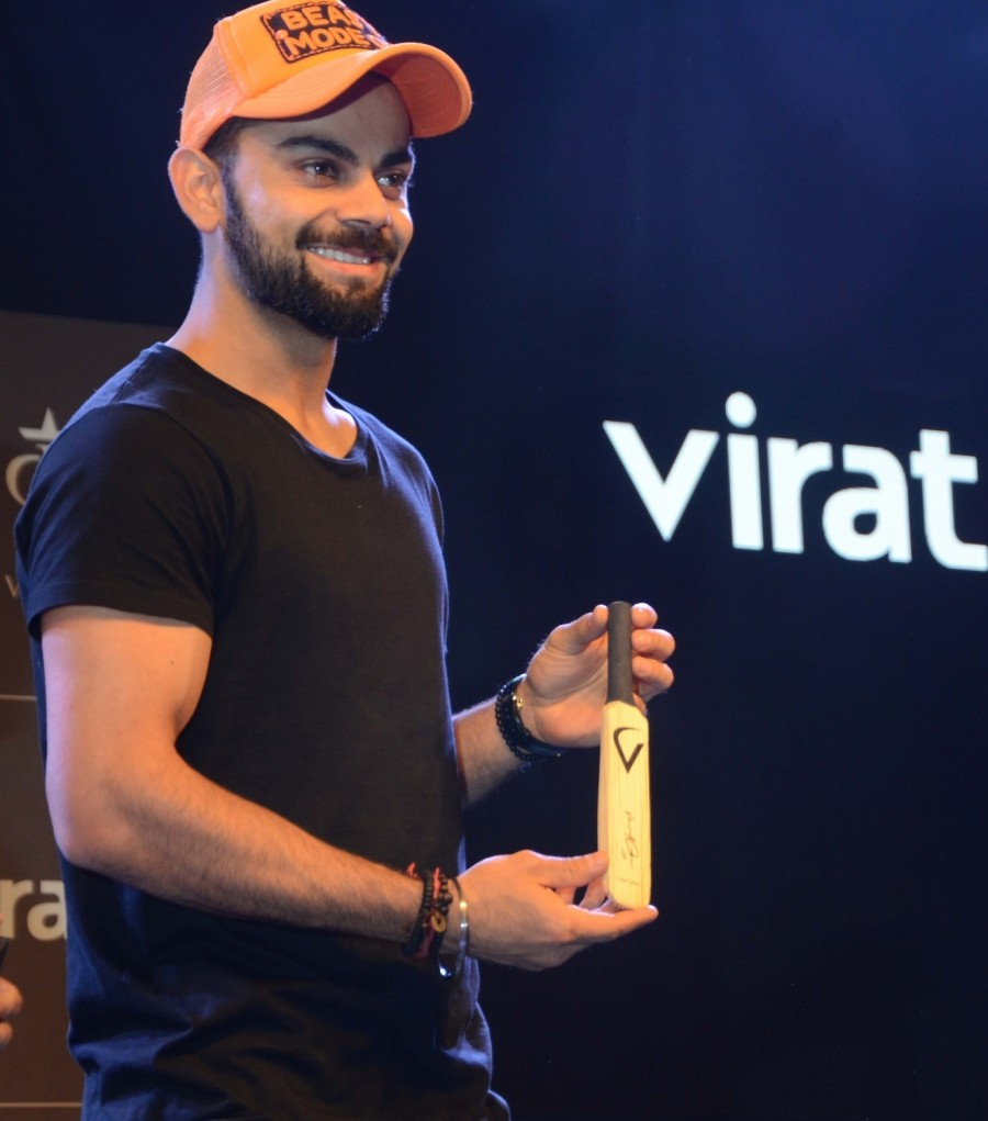 Virat Kohli at the launch of VIrat Fan Box