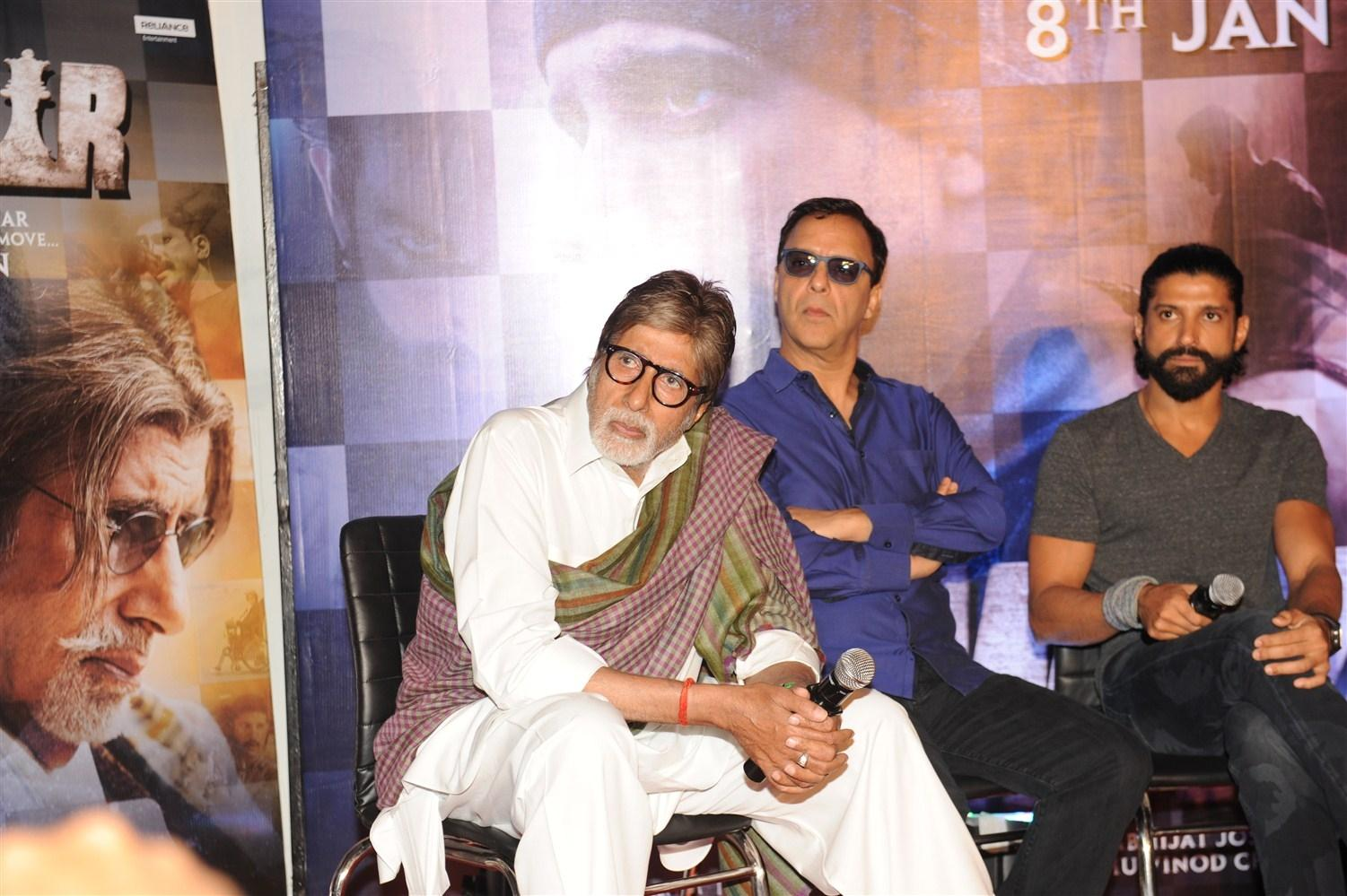 Wazir Movie Press Conference for Promotion in Mumbai