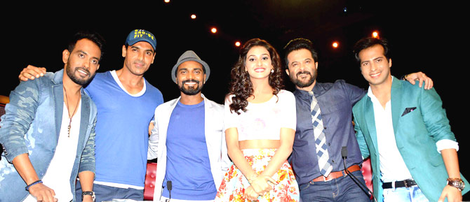 Welcome Back Movie Promotion on The Set of Dance Plus in Mumbai