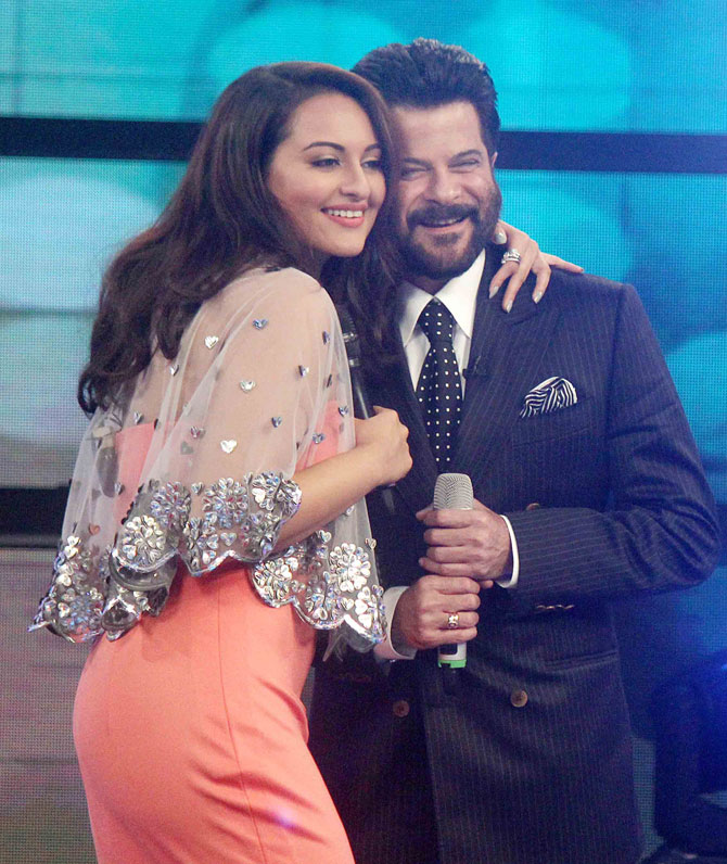 Welcome Back Movie Promotion On The Sets Of Indian Idol Junior