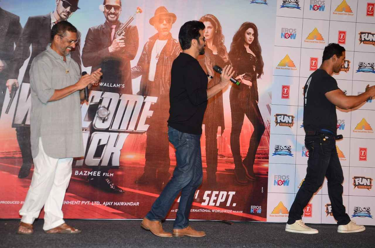 Welcome Back Movies Title Song Launch in Mumbai