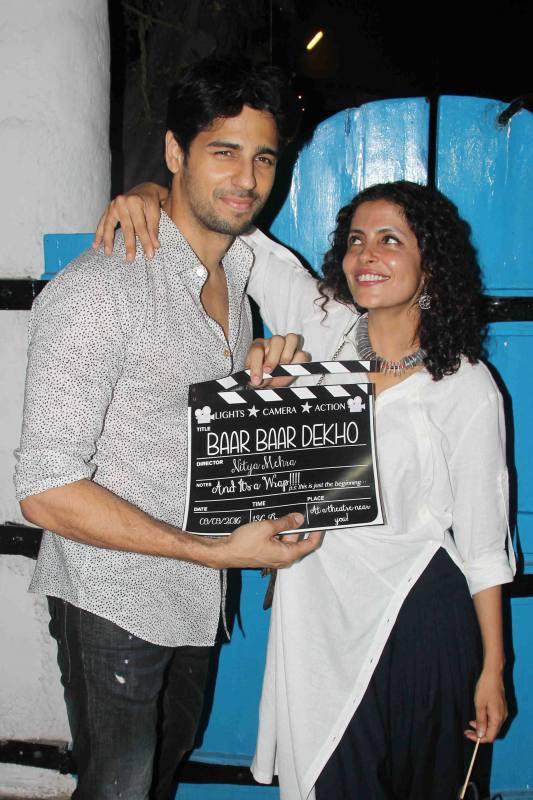 Wrap Party of film Baar Baar Dekho