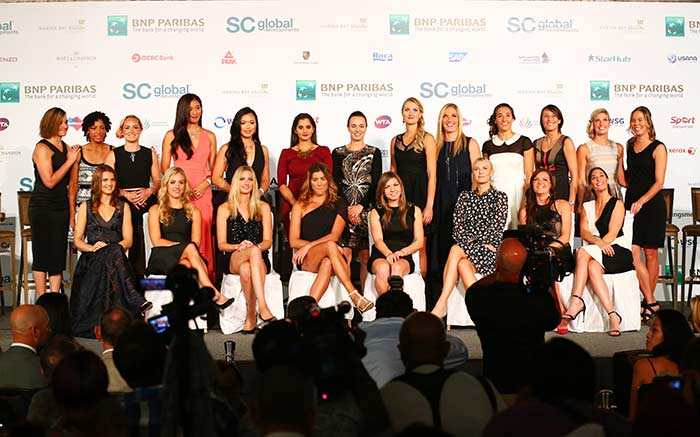 WTA Finals Singapore 2015 Official Draw Ceremony