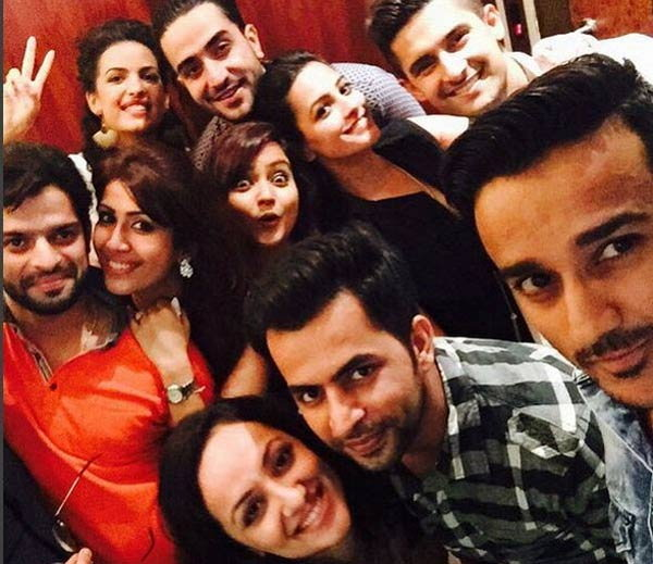 Yeh Hai Mohabbatein Cast at Ankita Bhargavas Party