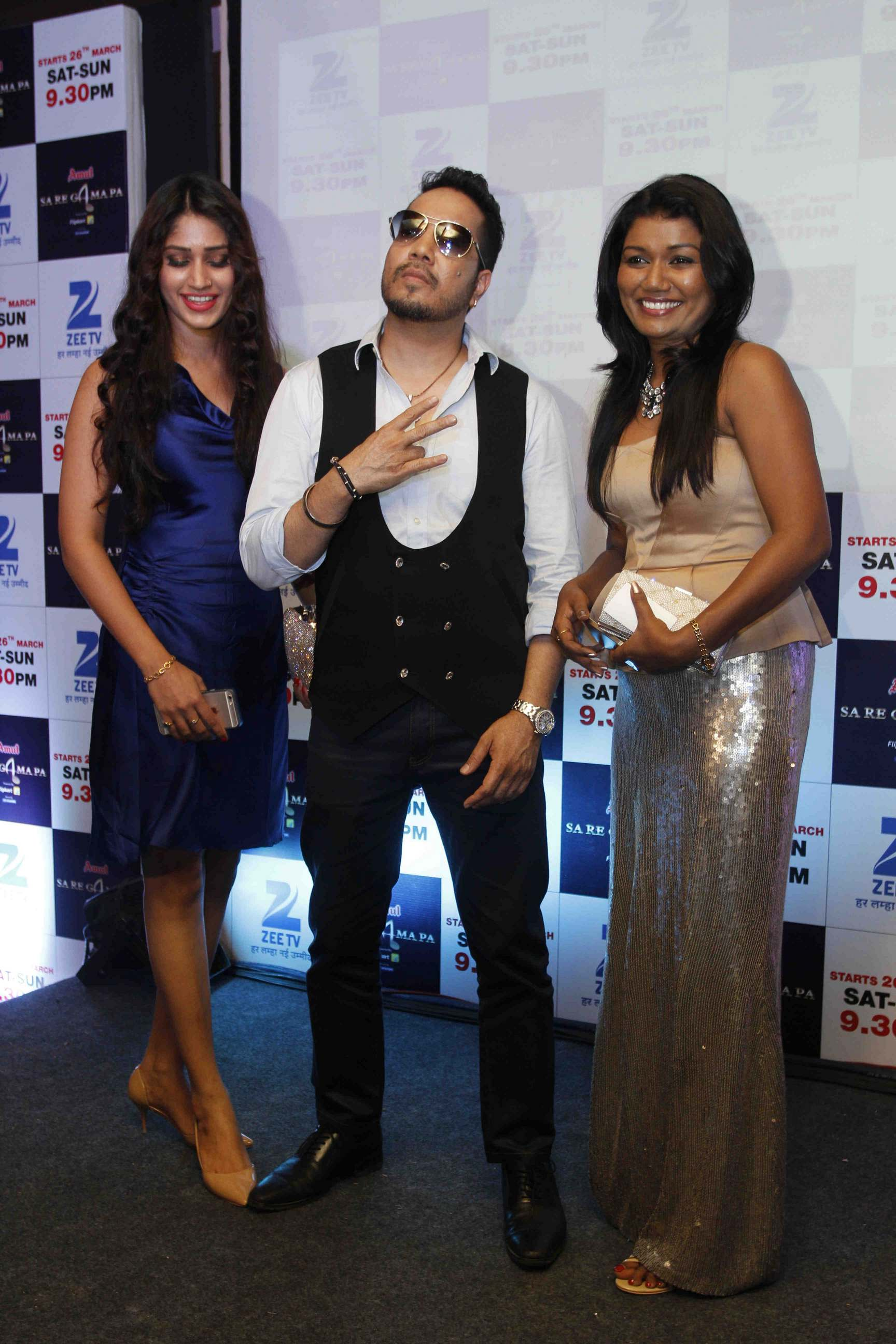 Zee TV Launches New Season of Sa Re Ga Ma Pa Reality TV in Mumbai