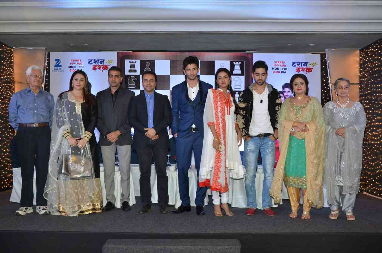Zee TV Launches New Serial Tashan E Ishq