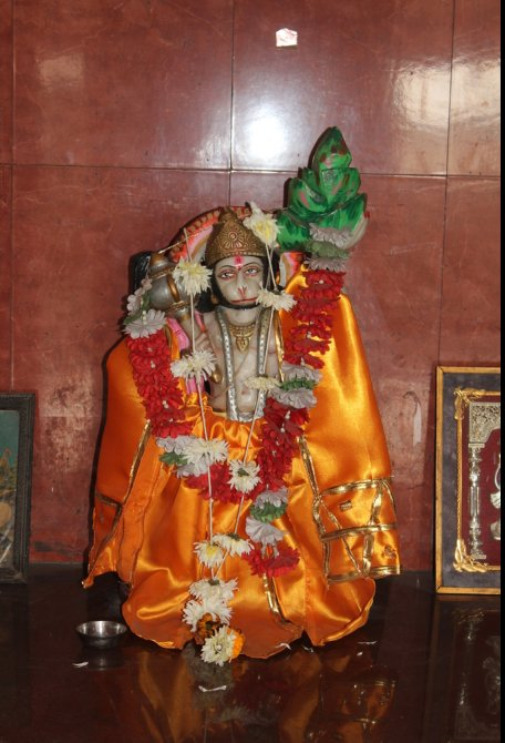 Hanuman Murti at Jagannath Dham