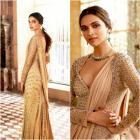 Deepika Padukone Looking Flawless in Monisha Jaisingh for Tanishq AD