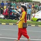 Shruti Haasan On Location Still