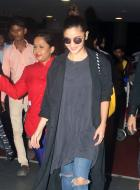Alia Bhatt and Meet Brothers Spotted at Mumbai Airport