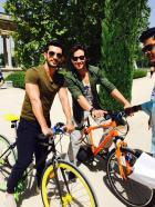 Arjun Bijlani and Tiger Shroff Spotted Cycling Together Recently