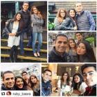 Geeta Basra Enjoys The Holiday Vacation with Hubby Harbhajan in London
